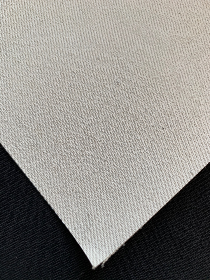 canvas cotton diagonal for the press