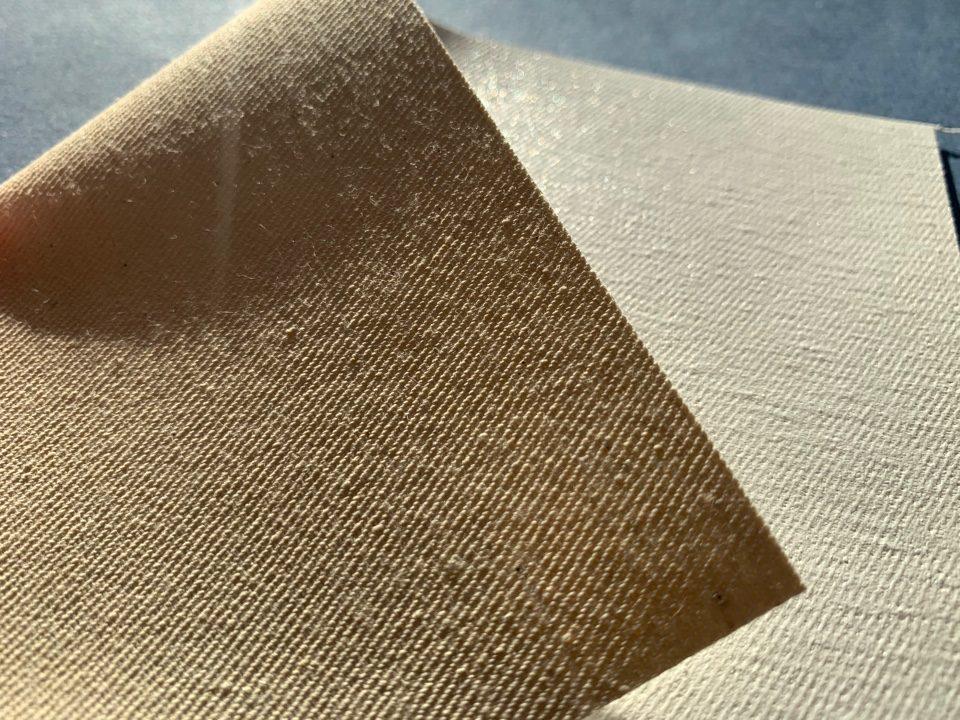 Cotton diagonal gloss